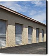 Commercial Storage Facility Canvas Print by Paul Edmondson