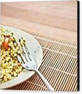 Cous Cous Salad Canvas Print