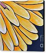 Dahlia Canvas Print by Holly Donohoe