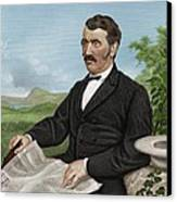 David Livingstone, Scottish Explorer Canvas Print