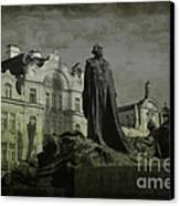 Death In Prague Canvas Print by Lee Dos Santos