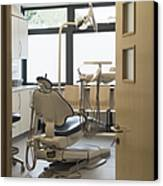 Dentist Chair Canvas Print by Iain Sarjeant