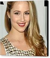 Dianna Agron At Arrivals For Fox Tca Canvas Print by Everett