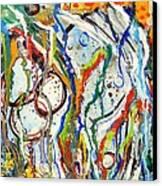 Disturbed Canvas Print by Katina Cote