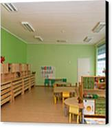 Empty Estonian Elementary Grade School Canvas Print by Jaak Nilson