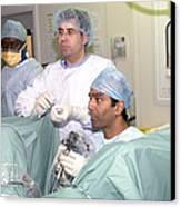 Endoscopy Canvas Print