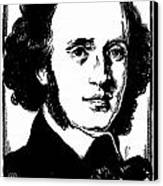 Felix Mendelssohn Canvas Print by Granger