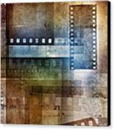 Film Negatives Canvas Print
