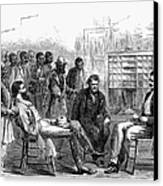 Freedmens Bureau, 1866 Canvas Print by Granger