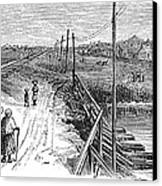 Freedmens Village, 1866 Canvas Print by Granger