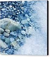 Freezing River Canvas Print by Jeremy Walker