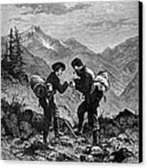 Gold Prospectors, 1876 Canvas Print