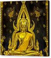Golden Buddha  Canvas Print by Anek Suwannaphoom