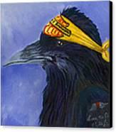 Harley Ravenson Canvas Print by Amy Reisland-Speer