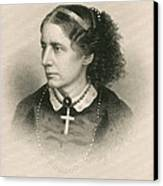 Harriet Beecher Stowe, American Canvas Print by Photo Researchers
