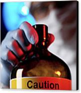 Hazardous Chemical Canvas Print