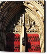 Heinz Chapel Doors Canvas Print by Thomas R Fletcher