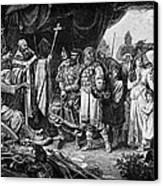 Henry I (876-936) Canvas Print