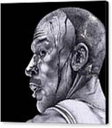 Homage To Jordan Canvas Print
