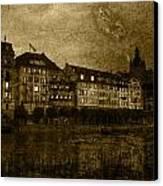 Hotel Schiff Canvas Print by Ron Jones