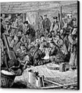 Immigrants: Chinese, 1876 Canvas Print by Granger