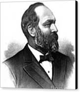 James A. Garfield, 20th American Canvas Print