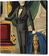 James Polk, 11th American President Canvas Print by Photo Researchers