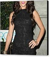 Jessica Lowndes At Arrivals For 90210 Canvas Print