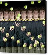 Juggler Canvas Print by Ted Kinsman