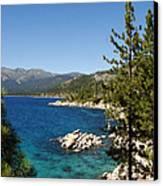 Lake Tahoe Shoreline Canvas Print