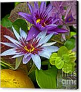 Lilies No. 32 Canvas Print by Anne Klar