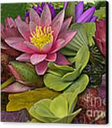 Lilies No. 33 Canvas Print by Anne Klar