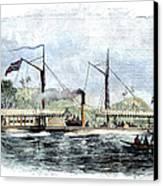 Livingstone: Steam Launch Canvas Print