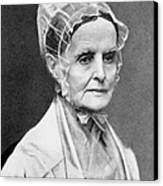 Lucretia Coffin Mott Canvas Print by Granger