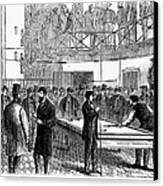 Ludlow Street Jail, 1868 Canvas Print by Granger