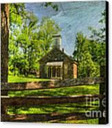 Lutz-franklin Schoolhouse Canvas Print