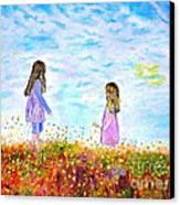 Maria - Filippia Canvas Print by Kostas Dendrinos