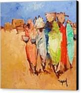 Market Day Canvas Print by Negoud Dahab
