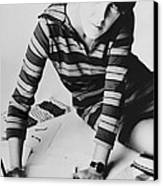 Mary Quant, British Mod Fashion Canvas Print