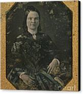 Mary Todd Lincoln, First Lady Canvas Print by Photo Researchers