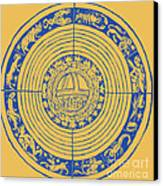 Medieval Zodiac Canvas Print