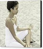 Meditation Canvas Print by Joana Kruse