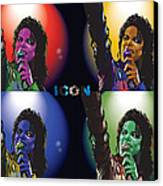 Michael Jackson Icon4 Canvas Print