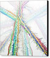 Molecular Collisions Canvas Print