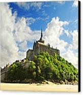 Mont Saint Michel Canvas Print
