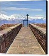 Monte Tamaro Canvas Print