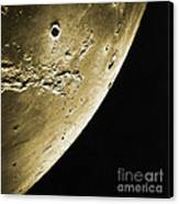Moon, Apollo 16 Mission Canvas Print by Science Source