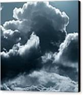 Moonlit Clouds Canvas Print by Detlev Van Ravenswaay