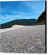 Mountain Highway Canvas Print by Ivan SABO