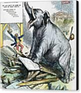 Nast: Tweed Cartoon, 1875 Canvas Print by Granger